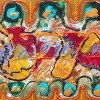 Abstract schilderij acryl kopen