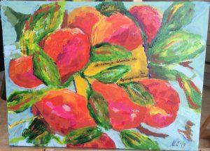 Schilderij april Mia Leijnse