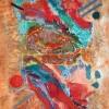 Abstract schilderij materialen