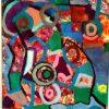 abstract schilderij kermis